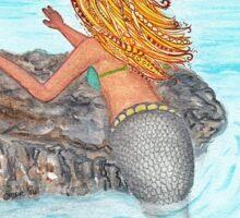 Siren mermaid longing  Sticker