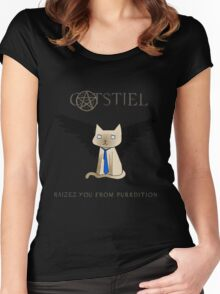 Supercatural Women's Fitted Scoop T-Shirt