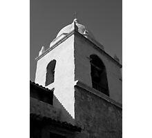 Carmel Mission I BW Photographic Print