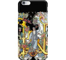 The Illustrated Alphabet Capital N (Fuller Bodied) iPhone Case/Skin