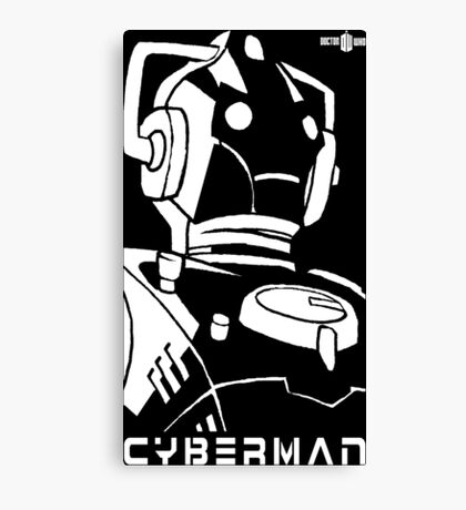 Doctor Who - Cyberman Canvas Print