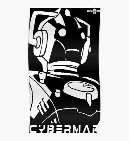 Doctor Who - Cyberman Poster