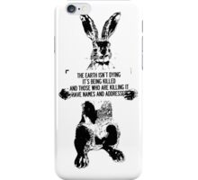 The Earth isn't Dying iPhone Case/Skin