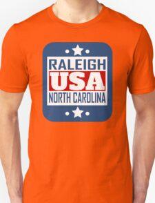 Raleigh North Carolina USA Unisex T-Shirt