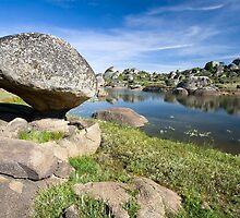 Lake of Los Barruecos by PhotoBilbo