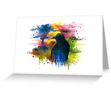 Bird 71 Crow Raven Greeting Card