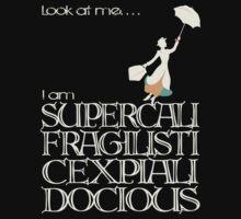 Mary Poppins - Supercalifragilisticexpialidocious v2 One Piece - Short Sleeve