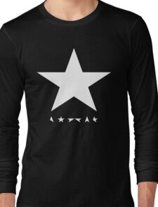 whitestar david bowie Long Sleeve T-Shirt