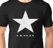 whitestar david bowie Unisex T-Shirt