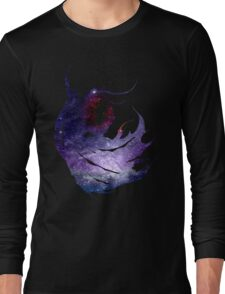Final Fantasy IV logo universe Long Sleeve T-Shirt
