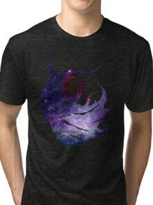 Final Fantasy IV logo universe Tri-blend T-Shirt