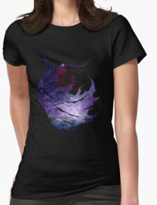 Final Fantasy IV logo universe Womens Fitted T-Shirt