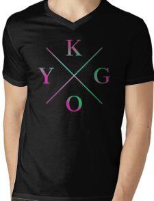 KYGO Color Mens V-Neck T-Shirt