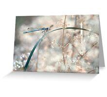 """Grass bridge"" Greeting Card"