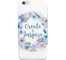 Create & Inspire iPhone Case/Skin