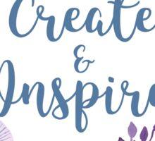 Create & Inspire Sticker
