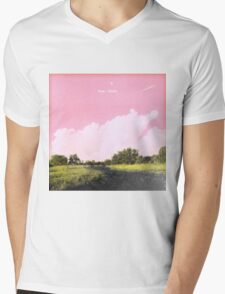 Frank Ocean - Pink + White Mens V-Neck T-Shirt