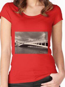 Alexander III bridge, Paris Women's Fitted Scoop T-Shirt