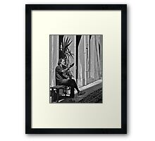 Discussion (2) Framed Print
