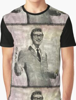 Buddy Holly Vintage Pop Star Graphic T-Shirt