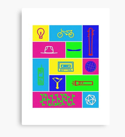 Stranger items Canvas Print