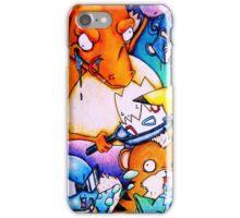 pokemon on acid iPhone Case/Skin