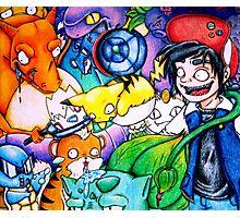 pokemon on acid Photographic Print