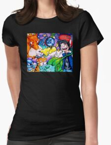 pokemon on acid Womens Fitted T-Shirt