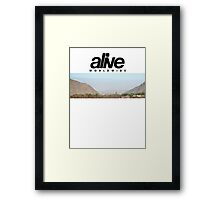 alive AZ1995 Framed Print