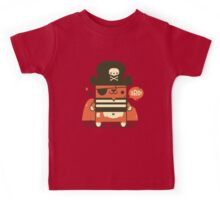 Pirate Kitty Kids Tee
