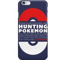 Hunting Pokemon iPhone Case/Skin