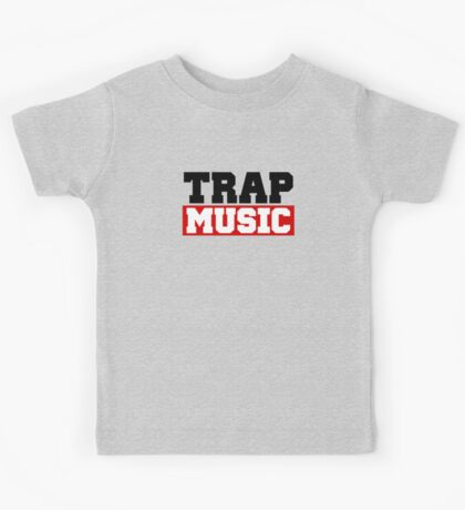 TRAP MUSIC - BASS PARTY Kids Clothes