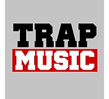 TRAP MUSIC - BASS PARTY Photographic Print