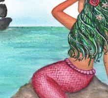 Mermaid Siren Fair Sticker
