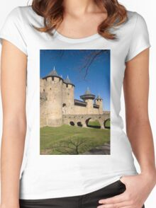 Carcassonne Women's Fitted Scoop T-Shirt
