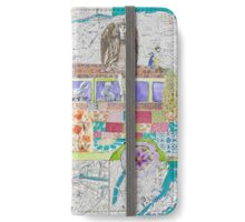 Travels in Wonderland iPhone Wallet/Case/Skin