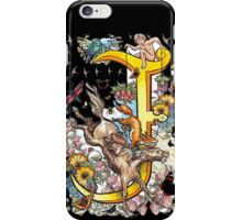 The Illustrated Alphabet Capital J (Fuller Bodied) iPhone Case/Skin