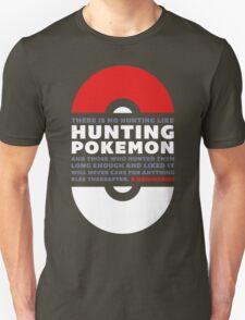 Hunting Pokemon Unisex T-Shirt