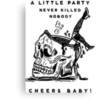 Cheers Baby Canvas Print