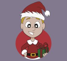 Christmas boy cartoon Kids Clothes