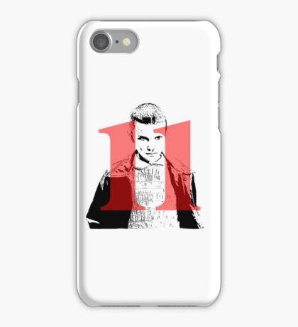 Stranger Things 11  iPhone Case/Skin