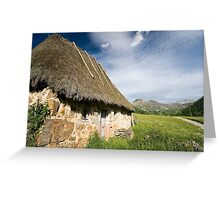 Natural park of Somiedo Greeting Card