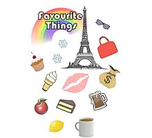 My Favourite Things Photographic Print