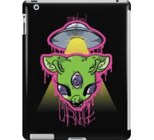 rainbow CARNAGE UFO iPad Case/Skin