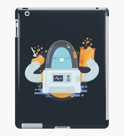 Aliens Love Cereal Too! iPad Case/Skin