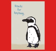 Ready for Anything Penguin One Piece - Short Sleeve