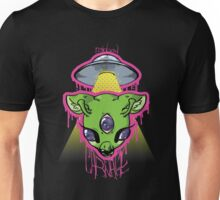 rainbow CARNAGE UFO Unisex T-Shirt