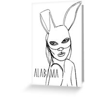 Alabama Project Love´s Kate Greeting Card