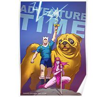 Adventure Time Badass Poster
