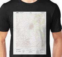 USGS TOPO Map Arizona AZ Trinity Mountain 20111103 TM Unisex T-Shirt